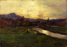 Lorenzo Delleani, Autunno dorato [1904]