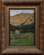 Lorenzo Delleani, Casolare sulle Alpi