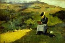 Lorenzo Delleani, La pittrice