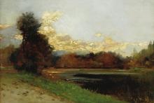 Lorenzo Delleani, Luci ed ombre vespertine
