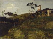 Lorenzo Delleani, Paesaggio [1881]