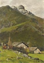 Lorenzo Delleani, Paesaggio montano