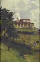 Lorenzo Delleani, San Bernardo a Pollone [1885]