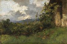 Lorenzo Delleani, San Bernardo a Pollone [1892]
