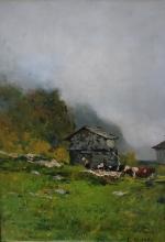 Lorenzo Delleani, Scende la nebbia