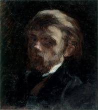 Fantin-Latour, Autoritratto a mezzo busto.jpg