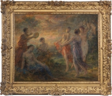 Fantin-Latour, Danze di sera | Danses au soir | Dances in the evening