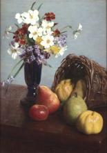 Fantin-Latour, Frutta e fiori | Fruits et fleurs | Fruit and flowers