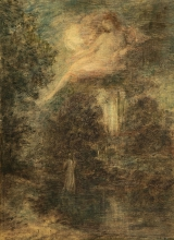 Fantin-Latour, L'evocazione (Solitudine)   L'evocation (Solitude)   The evocation (Solitude)   La evocación (Soledad)