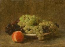 Fantin-Latour, Natura morta con uva e una pesca.jpg