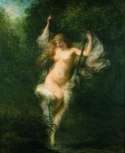 Fantin-Latour, Sarah la bagnante | Sarah la baigneuse | Sarah the bather | Sarah la bañista