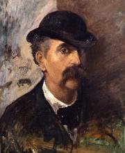 Fattori, Autoritratto [1874 circa]