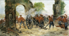 Giovanni Fattori, Battaglia del Volturno