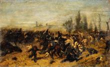 Giovanni Fattori, Battaglia di Montebello