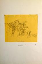 Giovanni Fattori, Buttero a cavallo, bufali e cavallo