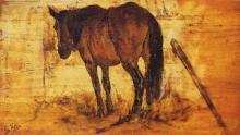 Fattori, Cavallo alla greppia.jpg