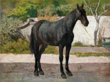 Fattori, Cavallo morello.jpg