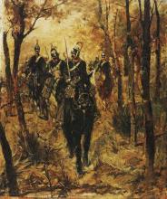 Giovanni Fattori, Dragoni italiani in perlustrazione