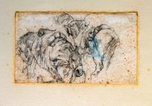 Giovanni Fattori, Due cavalli