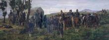 Giovanni Fattori, Episodio della battaglia di Custoza. Il principe Amedeo ferito viene accompagnato dall'ambulanza