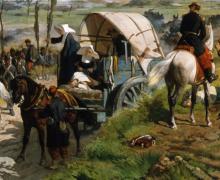 Giovanni Fattori, Il campo italiano dopo la battaglia di Magenta [1862] [dettaglio]