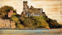 Fattori, Il castello di Lerici.png