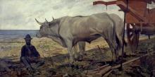 Giovanni Fattori, Il riposo (carro rosso)