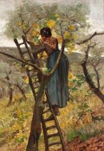 Fattori, La raccolta delle foglie