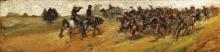 Giovanni Fattori, Lancieri a cavallo
