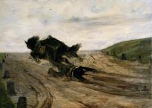 Giovanni Fattori, Lo staffato [1880]