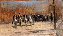Fattori, Plotone di cavalleria