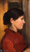 Giovanni Fattori, Profilo di donna