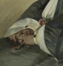 Fattori, Ritratto della cugina Argia [dettaglio 2].png