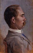 Fattori, Ritratto di Cesare Mazzuoli