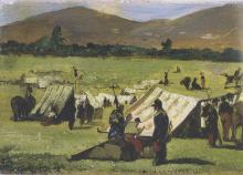 Fattori, Soldati francesi alle Cascine [dettaglio 1].png