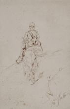 Fattori, Soldato a cavallo [2].jpg