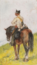 Fattori, Soldato a cavallo [7].jpg