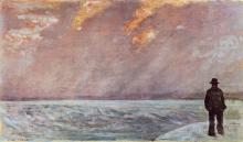 Giovanni Fattori, Tramonto sul mare