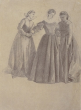 Fattori, Tre figure femminili in costume.jpg