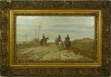 Fattori, Tre soldati a cavallo [cornice].jpg