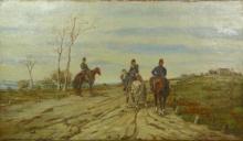 Fattori, Tre soldati a cavallo.jpg