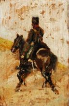 Fattori, Un cavaliere in uniforme.jpg