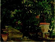 Fattori, Vialetto in giardino.jpg
