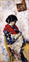Giacomo Favretto, Donna seduta