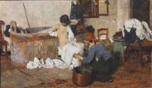 Giacomo Favretto, Dopo il bagno