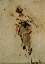 Giacomo Favretto, Figura di popolana