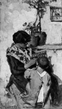 Giacomo Favretto, La Zanze