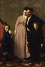 Giacomo  Favretto, La famiglia Guidini