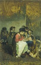 Giacomo Favretto, La maestrina