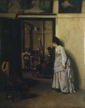 Giacomo Favretto, La moglie gelosa
